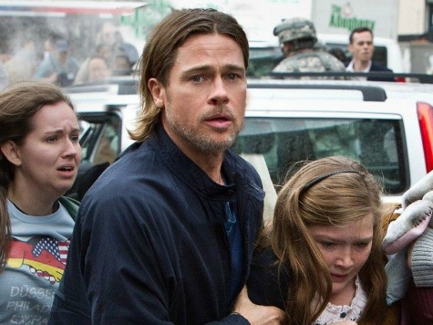 Brad Pitt Makes Surprise Appearance at Eastern PA Screening of 'World War Z'
