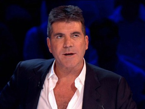 Simon Cowell Egged During 'Britain's Got Talent' Finale