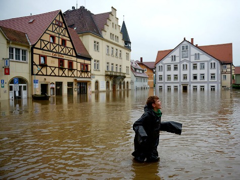 Germany Battles Historic Floods