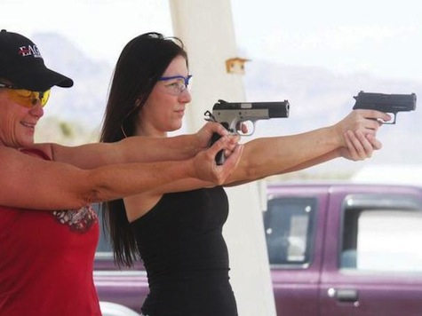 Free Guns for Single Women in Texas