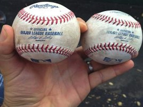 Fan Catches Two Home Run Balls In One Game