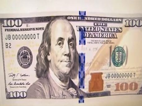 WATCH: Sneak Peak At Re-Designed $100 Bill