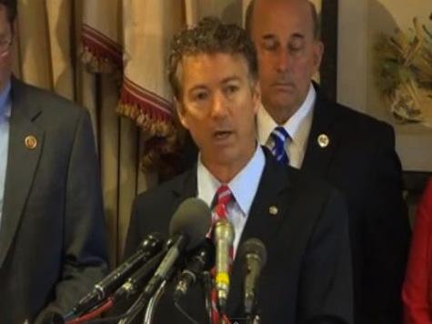 Senator Paul Announces Legal Action Against Government Surveillance