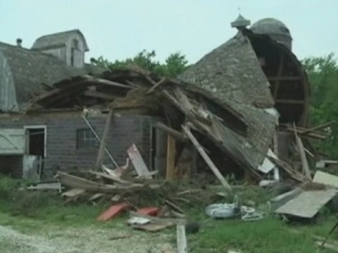Tornado Hits Iowa as Big Storm Heads East