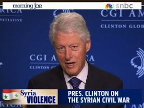 President Clinton Downplays Criticism Of Obama