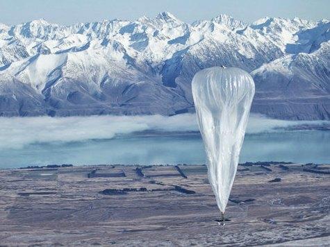 Google Tests Internet-Beaming Balloons