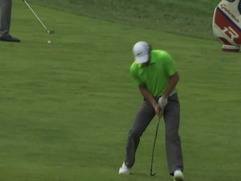 McIlroy Bends Club Out Of Frustration