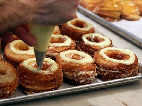 Half-Croissant, Half-Donut 'Cronuts' Sweep NYC