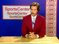 'Ron Burgundy' ESPN SportsCenter Audition