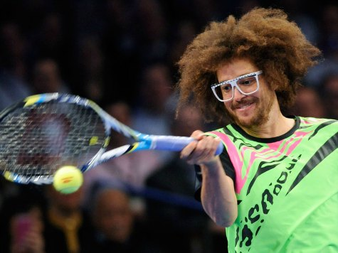 LMFAO's Redfoo Brings Party Rock to Tennis
