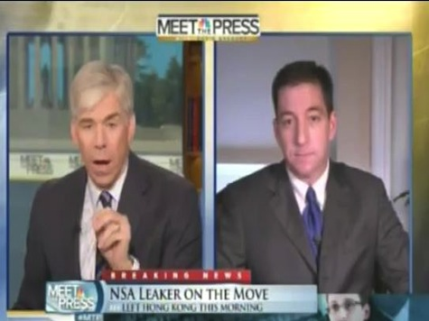 NBC's Gregory Asks Greenwald: 'Why Shouldn't You Be Charged With a Crime?'