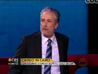 Jon Stewart Drops By Egypt's 'Daily Show'