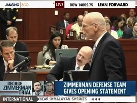 Zimmerman's Defense Opens With 'Knock-Knock' Joke