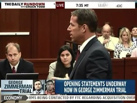 Prosecutor Quotes Zimmerman to Open Trial: 'F—— Punks. These A——-.""