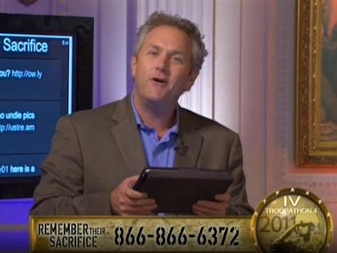 Gold Star Mom Talks Andrew Breitbart's Love for 'Troopathon' **Live Stream Thursday**