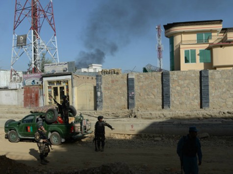 Taliban Attacks Afghan Presidential Palace