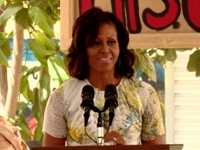 First Lady Gives Shoutout to Ailing Nelson Mandela