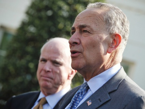 Schumer Predicts 'Million People' Marching for Immigration Bill in D.C.