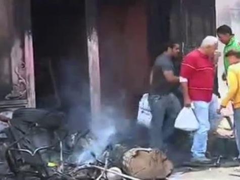 Egypt Protesters Ransack, Burn Muslim Brotherhood Headquarters
