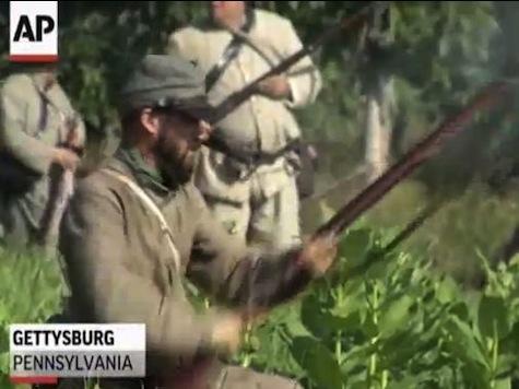 Thousands Re-Fight Battle Of Gettysburg