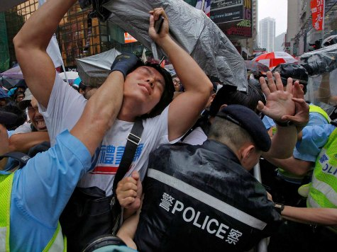Protests Mark 16th Anniversary of Chinese Rule in Hong Kong
