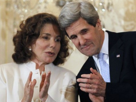 Report: John Kerry's Wife Funds Radical Anti-US, Anti-Israel Eatery