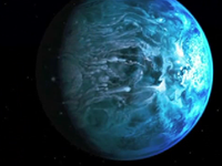 Astronomers Discover Blue Planet