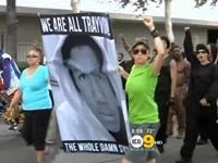 Los Angeles Protesters Take On 'Unjust' Zimmerman Verdict