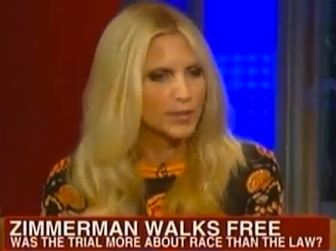 Ann Coulter: Zimmerman 'Sacrificial Lamb' For 'Mississippi Burning' Narrative