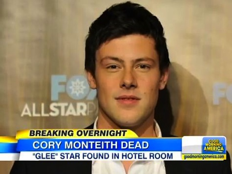 Glee Star Found Dead In Hotel Room
