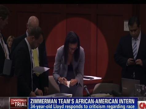 Zimmerman Defense Team's Black Intern Harassed On Twitter