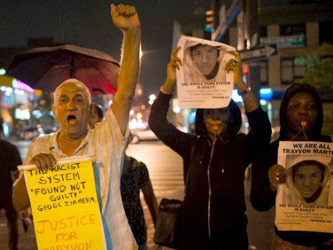 New Yorkers Take to Streets to Protest Zimmerman Verdict