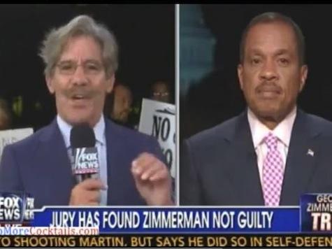 Geraldo Rivera, Juan Williams Battle Over Race In Zimmerman Trial