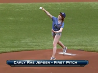 Carly Rae Jepsen Throws Horrible First Pitch