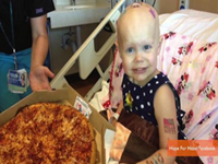 Little Cancer Patient Deluged With Pizzas Via Internet