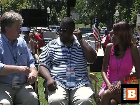 Wayne Dupree Joins Breitbart News At DC March Interview