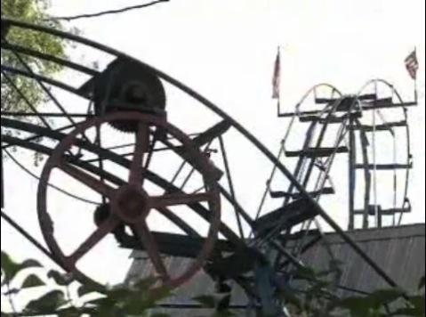 Man Builds G-Force Splitting Roller Coaster In Backyard