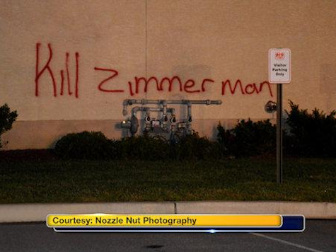'Kill Zimmerman' Painted On Business Before Arson