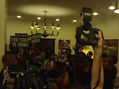 Zimmerman Protesters Take Over FL Gov's Office