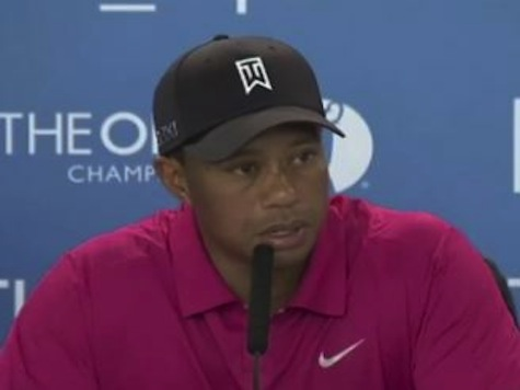 Tiger Woods Confident Ahead Of Open Championship