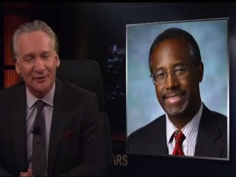 Maher: Dr. Ben Carson 'Half Brilliant Brain Surgeon, Half Tea Party Dumb A**'