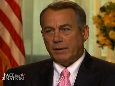 Boehner: We Ought to Be Judged on How Many Laws We Repeal