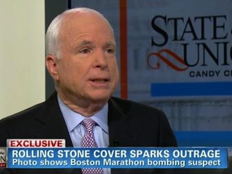 McCain: Rolling Stone Cover 'Horrifying'