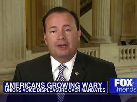 GOP Senator Threatens Gov't Shutdown Over Obamacare