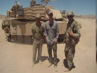 Brad Pitt Preps For WWII Film With U.S. Soldiers