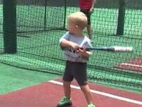WATCH: Three-Year-Old Baseball Prodigy