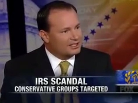 Senator Lee: White House May Have 'Something to Hide' on IRS Scandal
