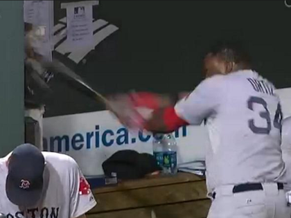 Boston's Ortiz Bashes Phone In Dugout After Strikeout, Ejection