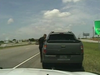 Dashcam Footage: George Zimmerman Pulled Over for Speeding in Texas