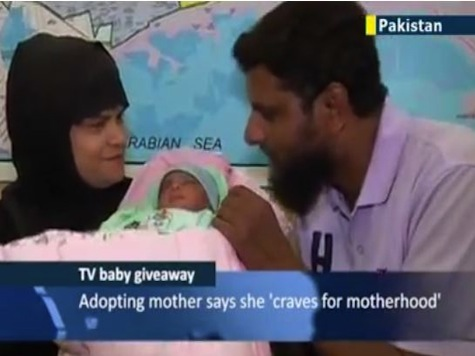 Babies As Prizes on Pakistani TV Game Show